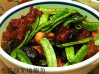 香菇蹄筋燴鮑魚