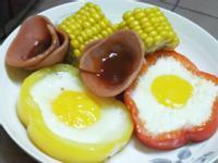 【大同電鍋料理】『蔬果蒸蛋營養早餐』