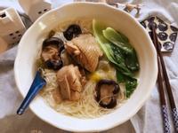 香菇煲雞湯