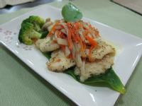 【吳双の愛妻料理】鮑菇燴魚片