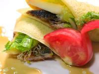 蒲燒鰻法式薄餅捲