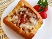 焗烤番茄肉醬軟法