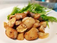 黑胡椒奶油蒜香杏鮑菇~鐵板風炒菇/下酒菜