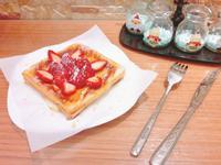 草莓蜂蜜法式吐司