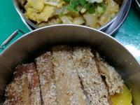 便當菜 之 豬排壽喜燒丼飯