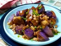 一鍋到底~肉燥炒茄子/ 麻辣烤肉醬便當菜