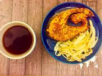 孜然梅子烤鮭魚~ 氣炸、烤箱、平底鍋3通