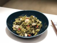 掛菜變鹹菜nóa Kiâm-Chhài