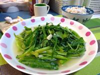 蒜香炒A菜(萵苣)