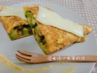 [生酮低醣餐]起司酪梨煎蛋