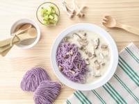 寶寶食譜/野菇雞肉燉寶寶麵 搭配奇異果