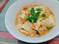 【家常菜】干貝豆腐羹