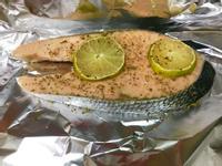 無鹽檸檬鮭魚-免烤箱無油煙、快速、少油