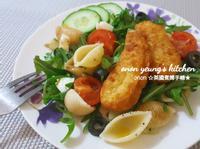 低卡野菜☘️貝殼麵沙拉 家常菜。健康前菜