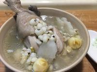 四神燉雞湯