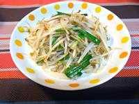 油蔥韮香豆芽菜