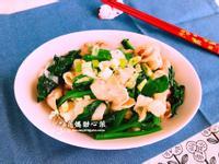 蒜香五花菠菜(無油家常菜)