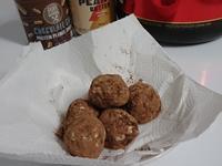 花生巧克力蛋白能量球😚