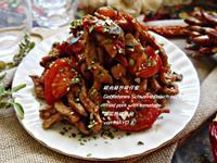 豬肉絲炒柑仔蜜