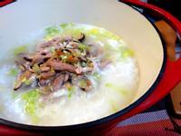 竹筍肉絲鹹粥