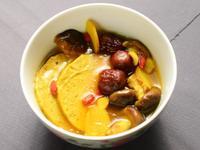 薑黃香菇素火腿湯