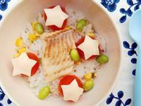 番茄鯛魚起司炊飯