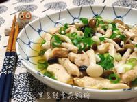 黑豆豉蕈菇雞柳