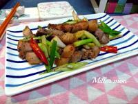 香炒客家鹹豬肉