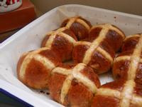 復活節十字酸種麵包