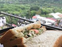 黃瓜鮪魚起司蛋吐司