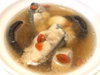 👩🏻🍳香菇枸杞鱸魚湯-無酒料理