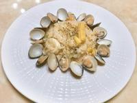 蒜香奶油海鮮燉飯