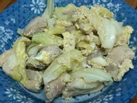 高麗菜蛋炒雞胸肉