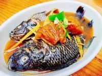 廕鳳梨煮海吳郭魚
