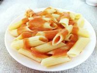 「番茄義大利麵」適合新手的簡易電鍋料理