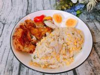 家常料理-肉絲蛋炒飯