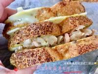 洋蔥鮪魚起司法式三明治