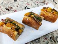 迷迭香牛小排法式麵包