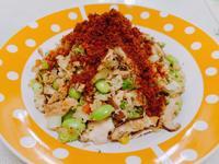 鮪魚花椰菜蛋炒飯(低碳/低醣)
