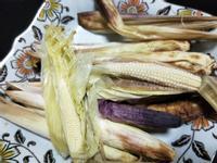 氣炸出美食-帶殼玉米筍