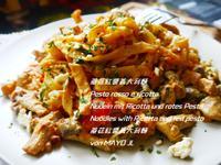 蘑菇紅醬義大利麵