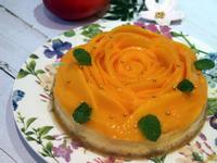 芒果花烤乳酪蛋糕