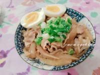 壽喜燒豬肉片丼飯