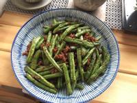家常菜《肉末乾煸四季豆》