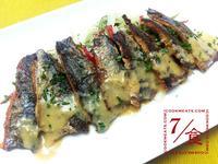 【7/食】秋刀魚和檸檬味噌醬