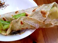 凱薩雞肉沙拉捲餅(速烤2分鐘)