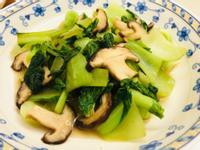 青江菜炒香菇(懶人料理)