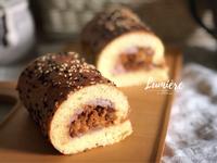 芋泥肉鬆麵包捲【低溫發酵】