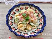義麵培根🥓馬鈴薯蛋沙拉