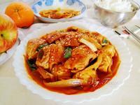 韓式泡菜雞肉